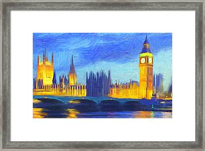 London 1 Framed Print by Caito Junqueira