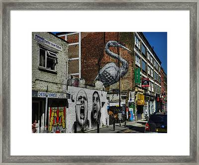 London 127 Framed Print by Lance Vaughn