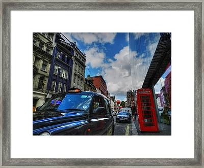 London 37 Framed Print