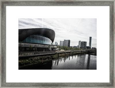 London Aquatic Centre Framed Print