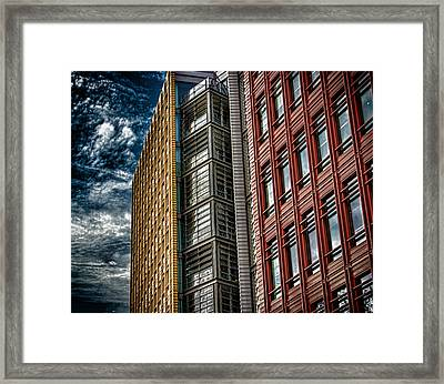 London Architecture Framed Print by Martin Newman
