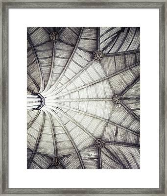 London Architecture - The Octagon Ceiling Framed Print