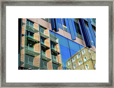 London Bankside Architecture 3 Framed Print