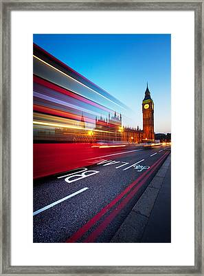 London Big Ben Framed Print