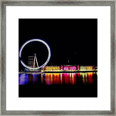 #london #british #photooftheday #bigben Framed Print by Ozan Goren