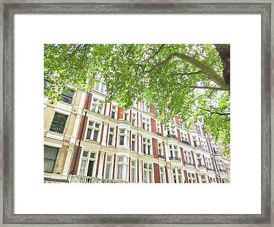 London Building Exterior Framed Print