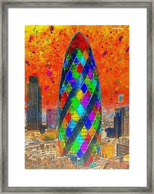 London Bullet 4 - Da Framed Print
