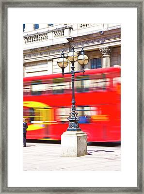London Calling Framed Print by Betsy Knapp