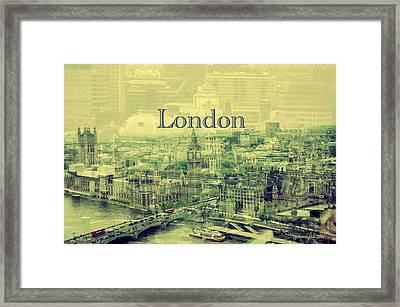 London Calling You Back Framed Print