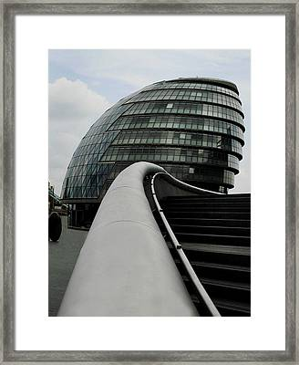 London City Hall Framed Print