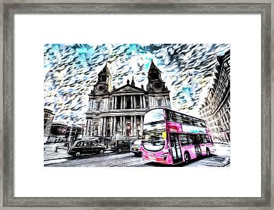 London Classic Art Framed Print by David Pyatt