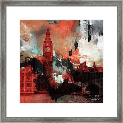 Big Ben London  Framed Print by Gull G