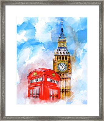 London Dreaming Framed Print