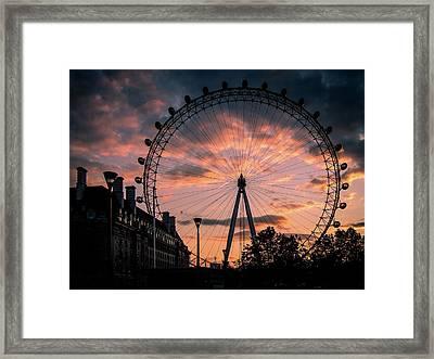 London Eye #1 Framed Print