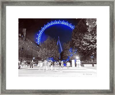 London Eye Framed Print by Sara Chin