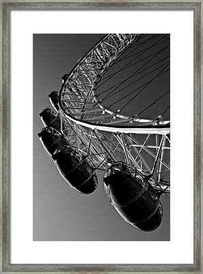 London Eye Framed Print by David Pyatt