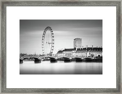 London Eye Framed Print by Ivo Kerssemakers