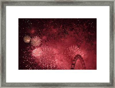 Inferno Framed Print by Monika Tymanowska
