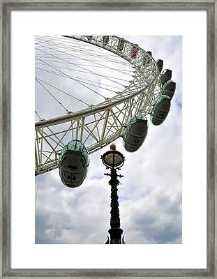 London Eye Framed Print by Svetlana Sewell