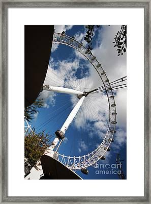 London Ferris Wheel Framed Print