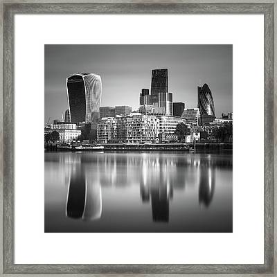 London Financial District Framed Print by Ivo Kerssemakers