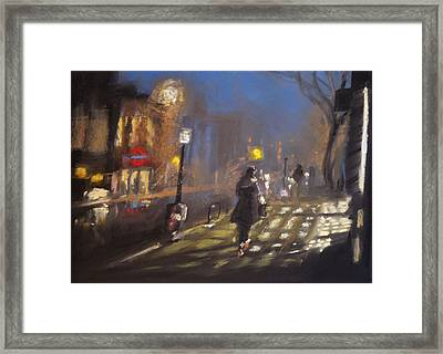 London Fog 2 Framed Print by Paul Mitchell
