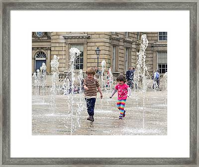 London Fun  Framed Print