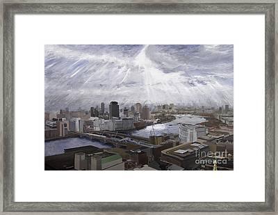 London Framed Print by Gerold Kalter