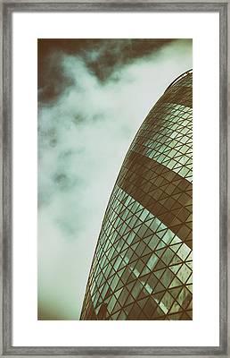 London Gherkin Framed Print by Martin Newman