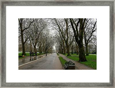 London Hyde Park Framed Print