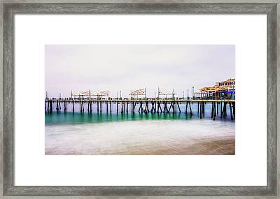 London In Redondo Framed Print