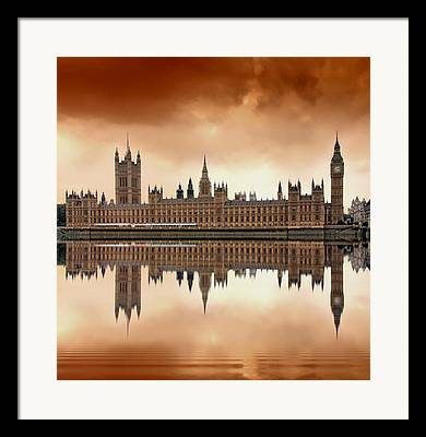 Landmark Framed Prints