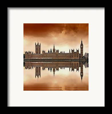 Stone Buildings Framed Prints