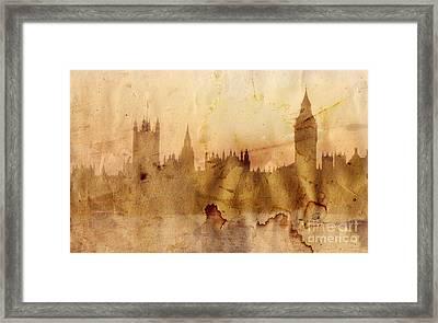 London Framed Print by Michal Boubin