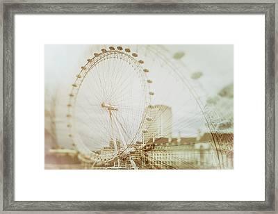 London Mist Framed Print by Mila Ivke