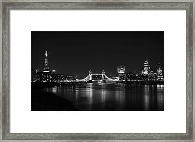 London Night View Framed Print