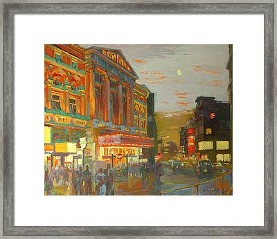 London Night  Framed Print