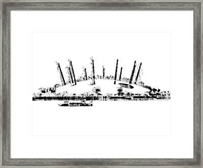 London O2 Arena Framed Print