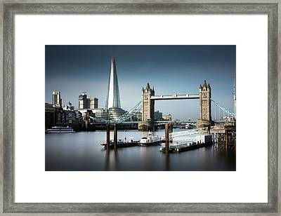 London, Old And New, Color Framed Print by Ivo Kerssemakers