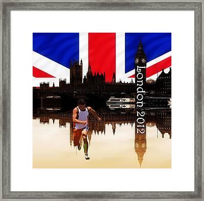 London Olympics 2012 Framed Print by Sharon Lisa Clarke