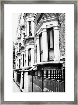 London Properties Framed Print