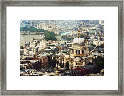 London Rooftops Framed Print
