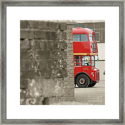 London Routemaster Framed Print