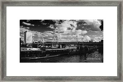London S Skyline Framed Print