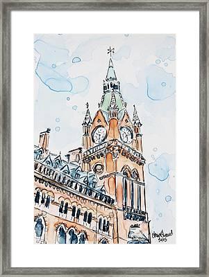 London Framed Print by Shaina Stinard