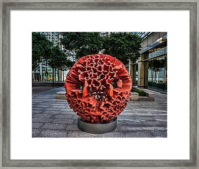 London Street Art Framed Print by Martin Newman