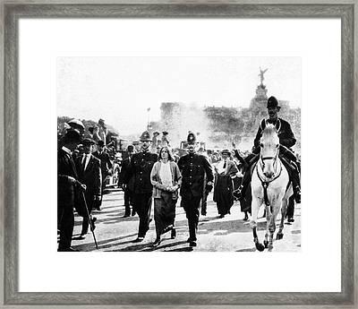 London: Suffragettes, 1914 Framed Print by Granger