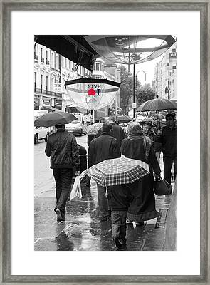 London Summer Framed Print by Jez C Self