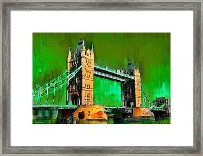 London Tower Bridge 11 - Pa Framed Print