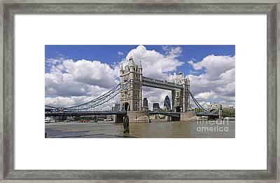 London Towerbridge Framed Print